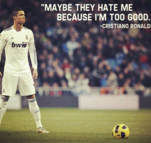 Quote from Cristiano RonaldoFootball, Real Madrid Quotes, Sports, Cr7 ...