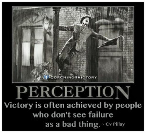 ... is often achieved by people who don't see failure as a bad thing