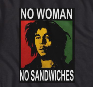 Bob Marley Woman Sandwiches