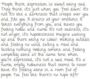 depression, quotes, sad, sadness