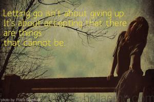 Abraham – Letting Go