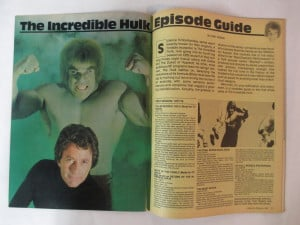 ... #43 FEB 1981 SCANNERS INCREDIBLE HULK EPISODE GUIDE PATRICK McGOOHAN
