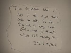 John Mayer Quotes HD Wallpaper 2