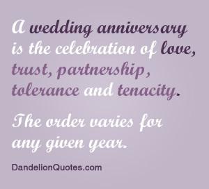 ... is the celebration of love,trust,Partnership,tolerance and tenacity