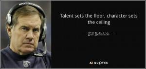 Bill Belichick Quotes