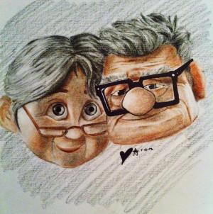Carl and Ellie by nogooddreamer
