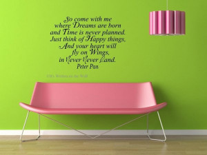 So come with me where dreams are born and time is never planned. Just ...