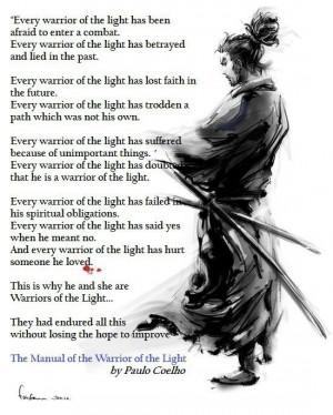 Warrior of the Light- Paulo Coelho