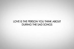 Sad Quote - sad-songs Photo