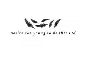 feathers, quote, quotes, tattoo