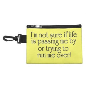 Funny joke quote gifts humor quotes cosmetic gift accessory bag