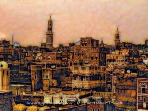 Sanaa City In Yemen Sanaa City In Yemen