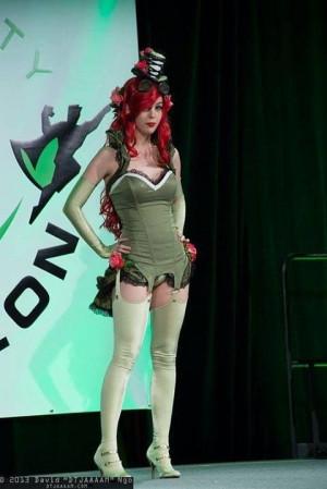 Steampunk Poison Ivy (Monika Lee)