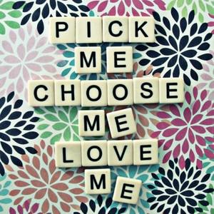 8x8 greys anatomy quote pick me choose me love me scrabble tiles ...