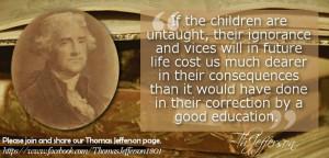Jefferson on education