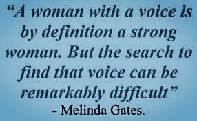 Shero Quote by Melinda Gates