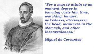 Miguel de cervantes famous quotes 1