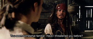 jack sparrow, johnny depp, movie, movie quote, orlando bloom, pirate ...