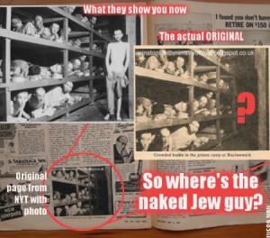 Famous Holocaust Photo Op Jewish Propaganda EXPOSED