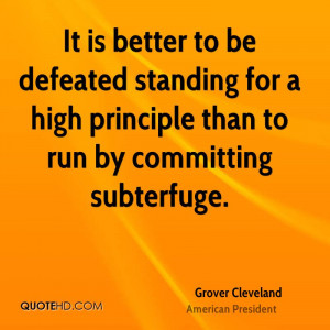 Grover Cleveland Quotes