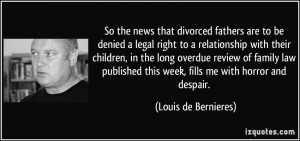 Divorced Father Quotes