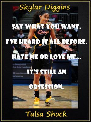 Skylar Diggins Basketball Quotes Basketball poster skylar