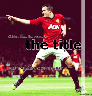 Van Persie Quotes Picture quotes
