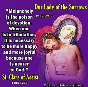 St. Clare of Assisi: Mothers Mary, Christ Superstar, Catholic Awesome ...
