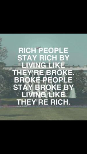 Rich people VS Poor people