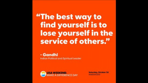 10 inspirational quotes about volunteering