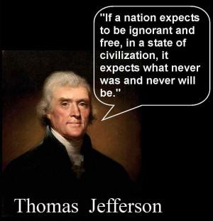 Thomas Jefferson. Founding Fathers Voting Quotes. View Original ...