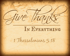 Why, one might wonder, is thankfulness so important?