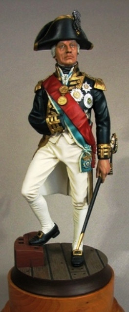 Vice Admiral Lord Horatio Nelson