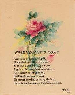 Cute Friendship Poem # 1
