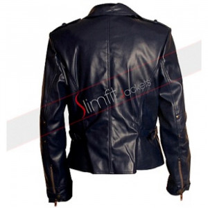 Long Leather Jackets for Women On Sale