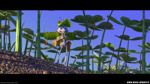 """Quotes from """"A bug's life""""."""