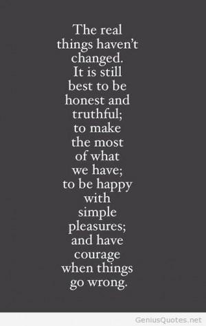 Simple pleasures of life quote