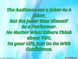 Joker Quotes HD Wallpaper 10