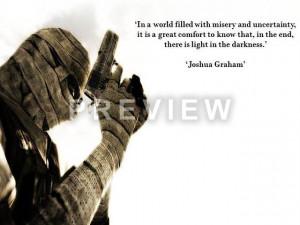 Fallout New Vegas Joshua Graham Quotes