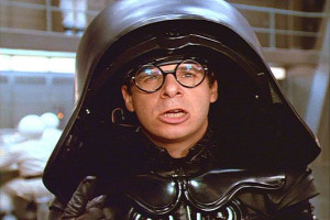 Dark Helmet in Spaceballs (Rick Moranis): Dark Helmets, Favorite ...