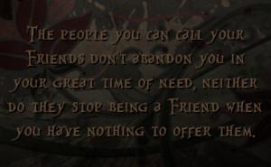 Friends Abandon Quotes http://fstatuses.com/sadness-facebook-statuses ...