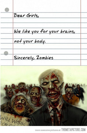 Funny photos funny zombies art drawing
