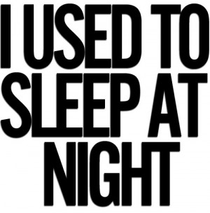 arcade fire, night, sleep, text, typography, used, we used to wait