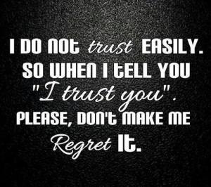 Trusting quotes, broken trust quotes, trust quote , heartbroken quotes ...