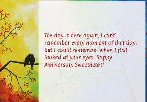 anniversary quotes for my husband , first wedding anniversary quotes ...
