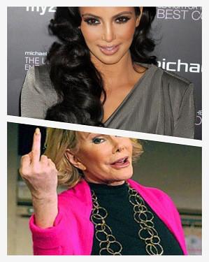 Quotes: Kim Kardashian Talks Her Butt, Joan Rivers Talks Crude About ...