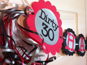 Dirty 30 Birthday Quotes http://www.etsy.com/listing/128325626/30th ...