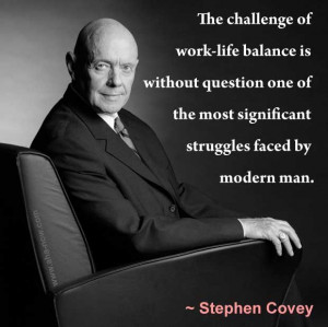 ... the most significant struggles faced by modern man. – Stephen Covey