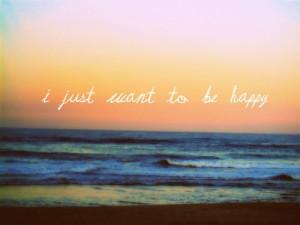 beach, happy, quote, sand, sea, sky, sunset, typo, typography, want
