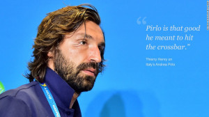 Balotelli's Italy teammate Andrea Pirlo is something of a cultural ...